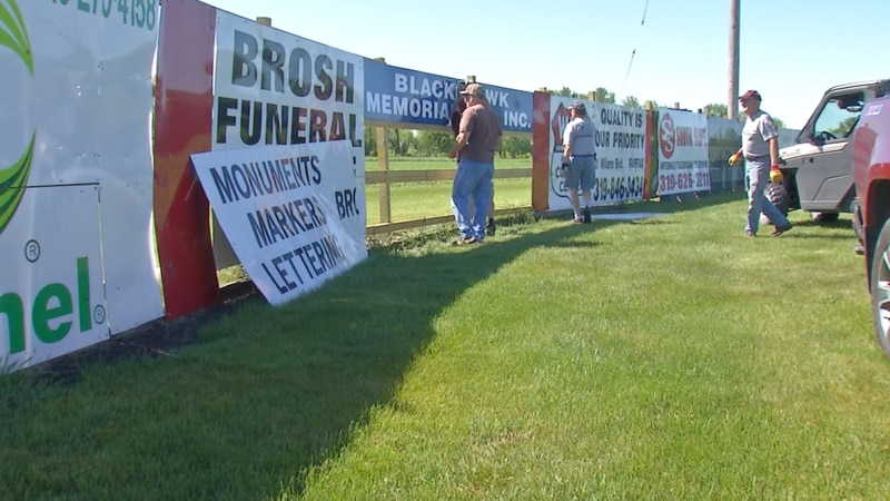 Watkins community rallies behind historic stadium that was damaged in derecho