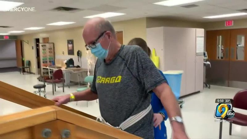 Local Acute Care Physical Therapist watches father recover from battle with COVID-19