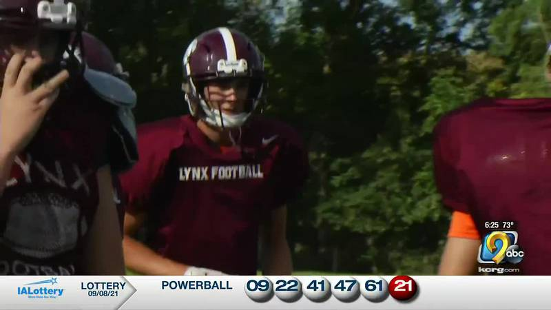 The North Linn football team has already matched their win total from last season.