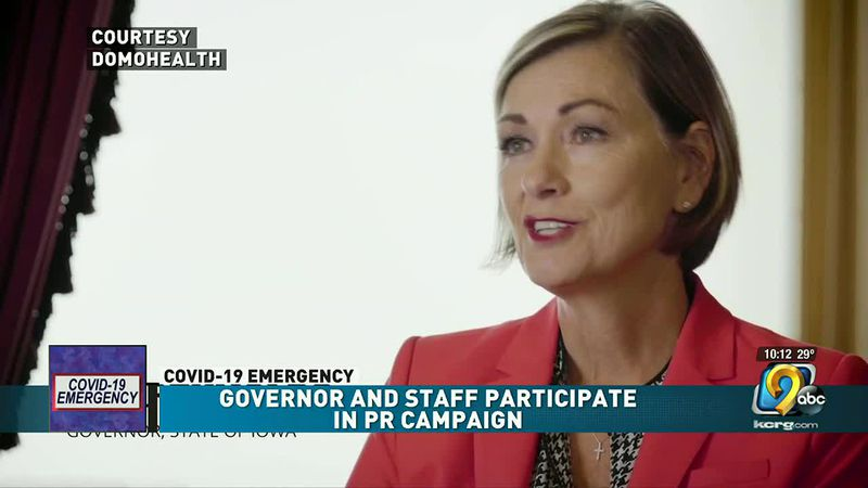 Reynolds and staff participate in PR campaign