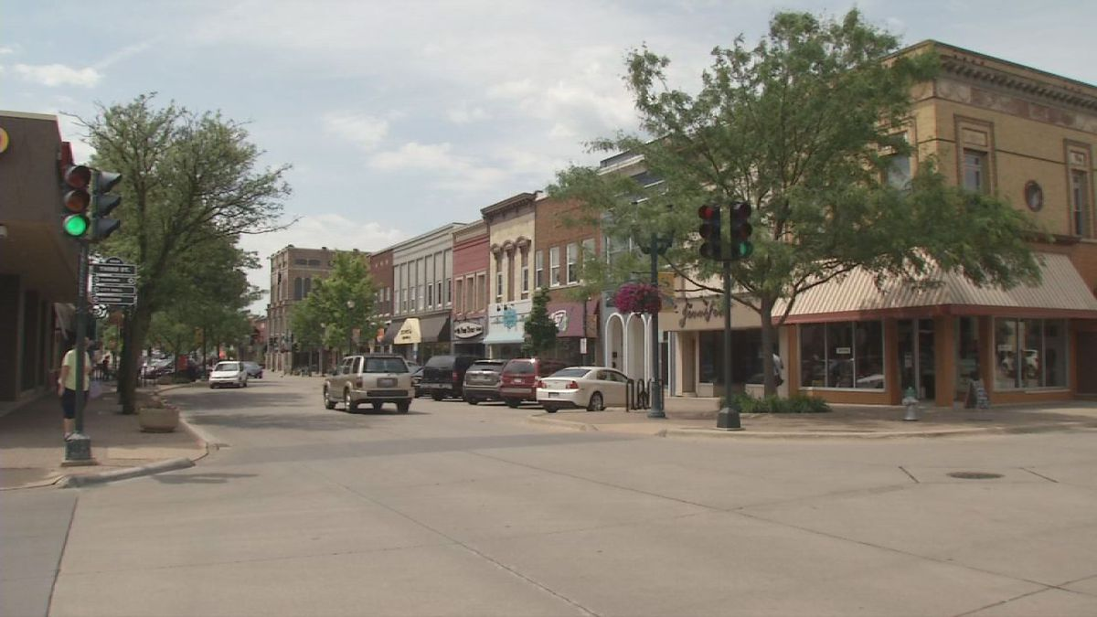 Main Street in Cedar Falls is a cornerstone of the city, even amid so much of the growth south of town.