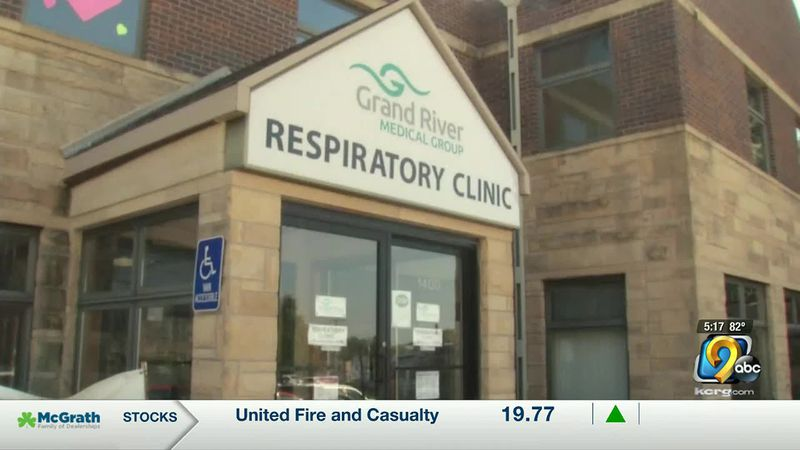 The new Test Iowa clinic at Grand River Medical Group's Respiratory Clinic will focus on...