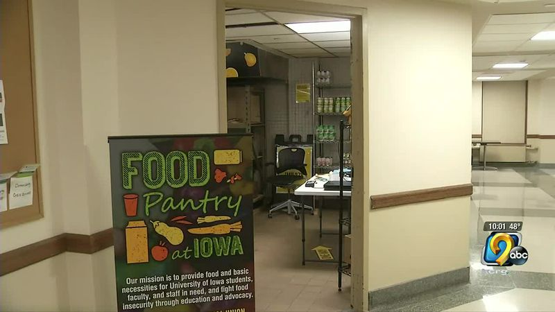 Food Pantry at Iowa