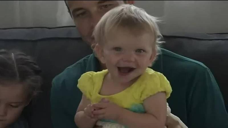 Cedar Rapids baby born in aftermath of derecho turns one.