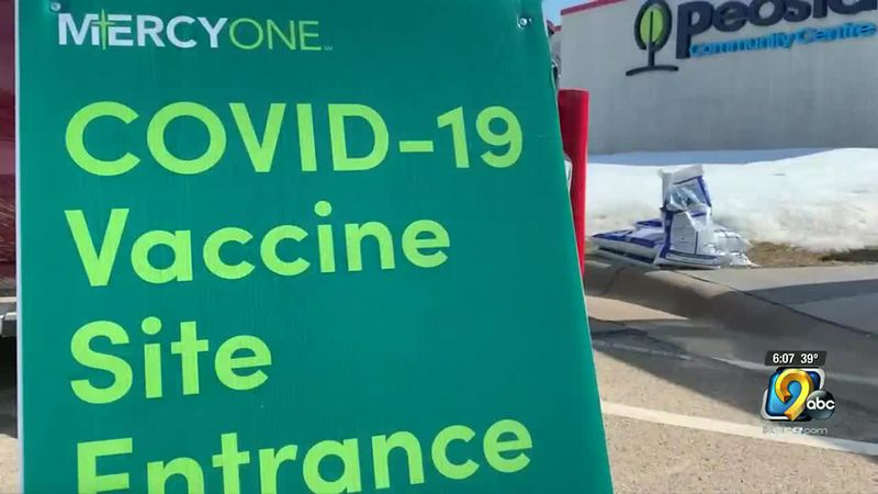 MercyOne Dubuque Pharmacy vaccinated more than 2,000 people in a vaccination clinic in Peosta...