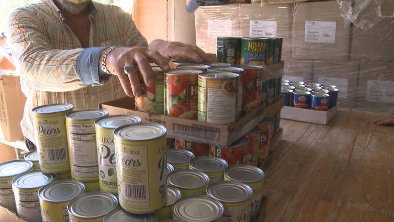 Food Pantries feed thousands of families each month and have a slew of volunteers to keep up...