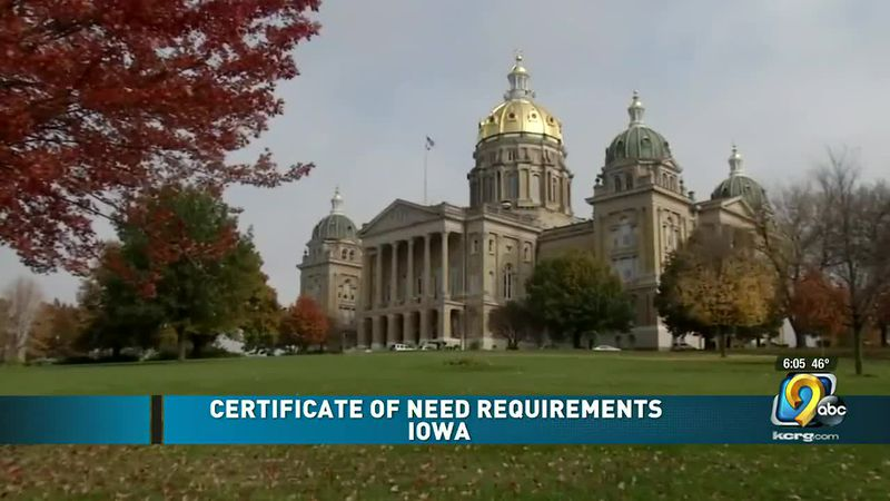 Learning more about certificates of need after UIHC is blocked from building new hospital in...