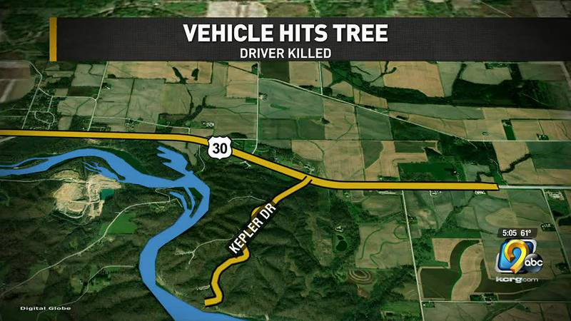 One person is dead after a crash in the Mount Vernon area.
