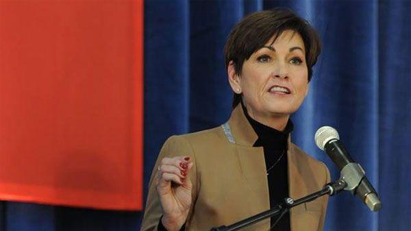 Iowa Governor Kim Reynolds (COURTESY PHOTO)