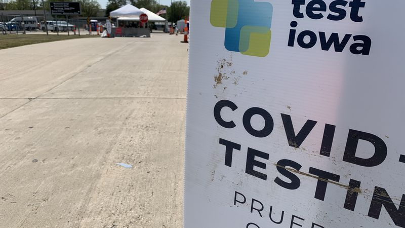 State doesn't keep track of positive rates in Test Iowa tests; took more than 46 days to meet...