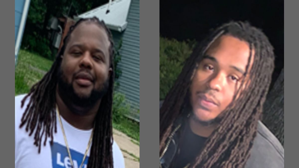 Photos of Damiko L. Carr, 28 (right) and Karyree Henderson, 21 (left) who were killed in Des Moines Shooting on January 15, 2020. (Courtesy Photo)