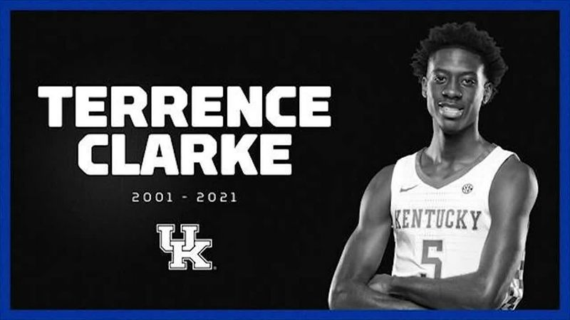 Kentucky freshman guard Terrence Clarke died Thursday following a car accident in Los Angeles....