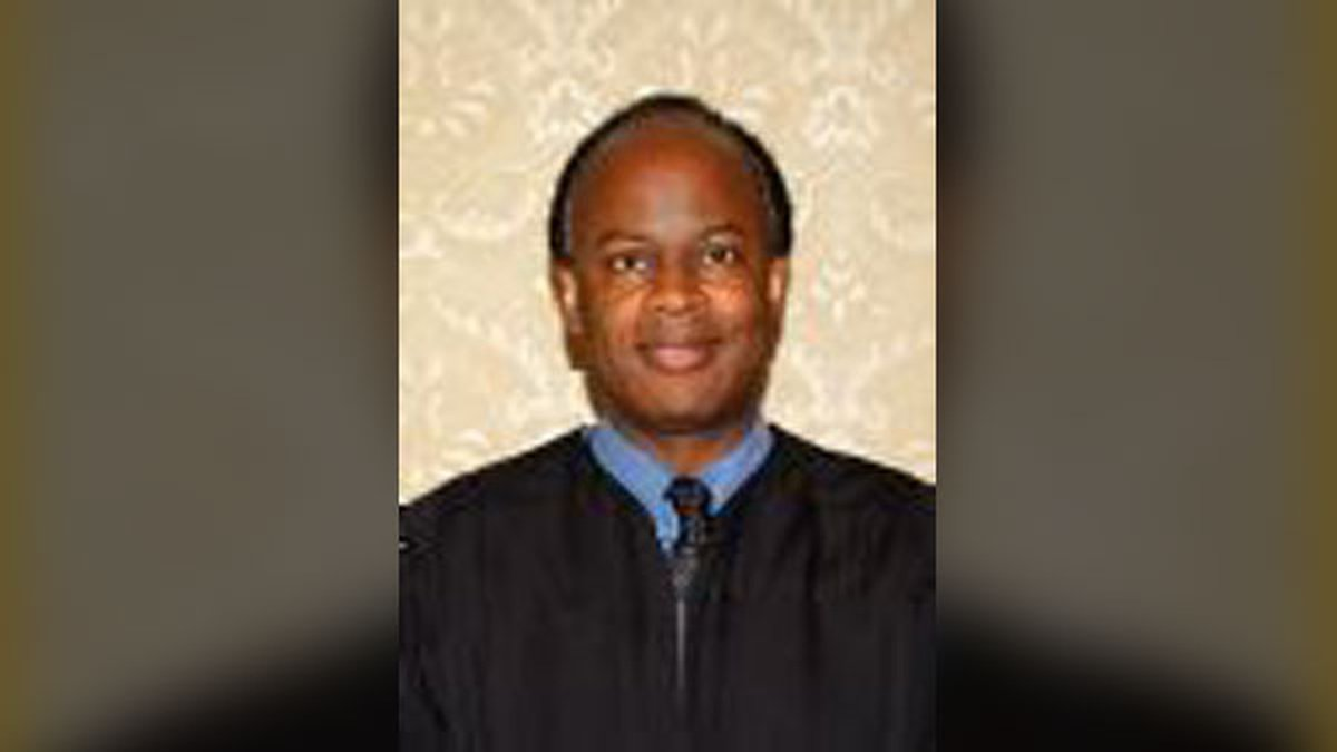 District Associate Judge Jeffrey Harris was found unresponsive in his office at the Black Hawk...
