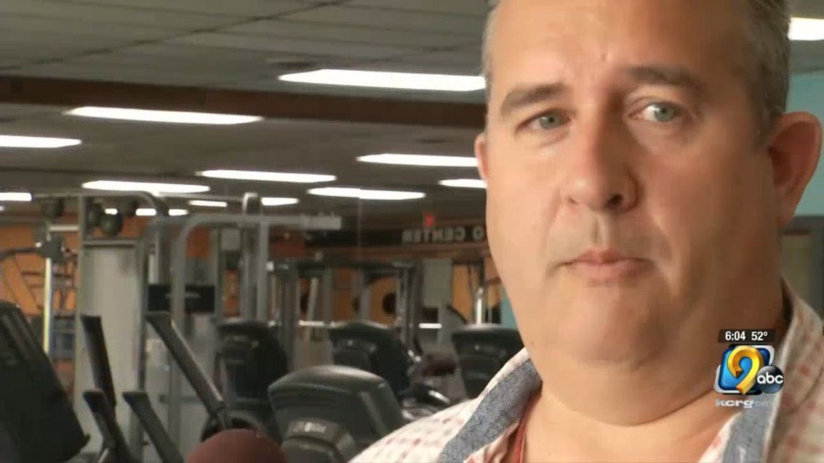 Jason Bailey, owner of Custom Fitness in Cedar Rapids (Mary Green/KCRG)