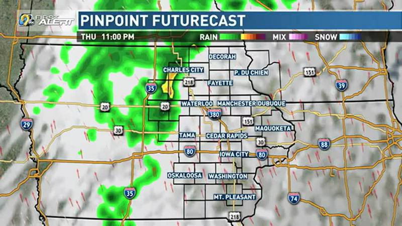 A few pop up showers and storms will be likely this evening, but as had been the case with our...
