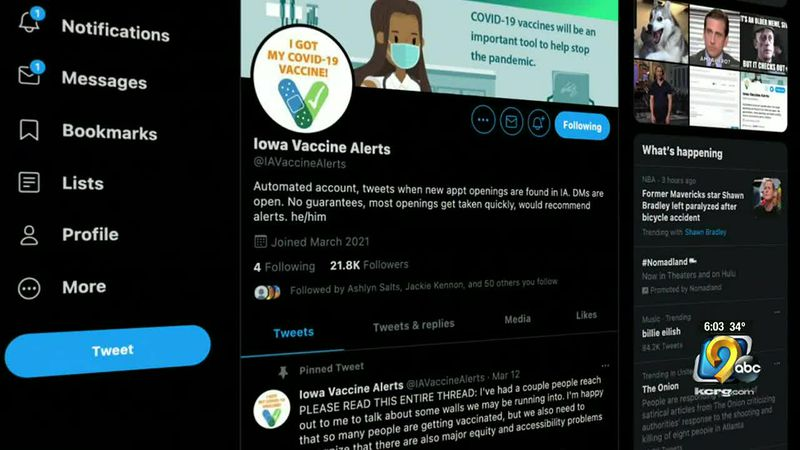 An Iowa City web developer's Twitter account went viral, then he thought about shutting it down