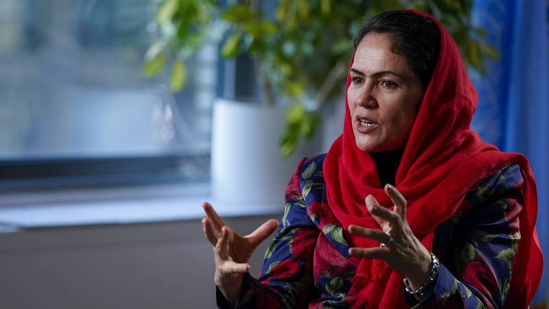 Fawzia Koofi, one of the Afghanistan's once-prominent female leaders — a former parliament...