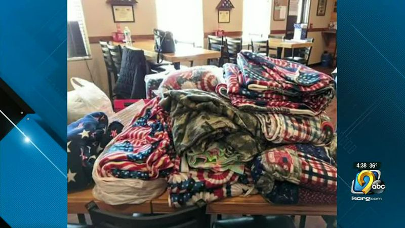 Blankets from Military Mamas
