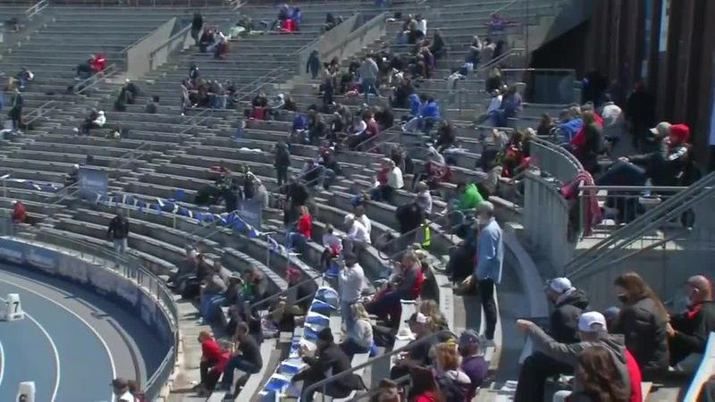 Fans grateful to be back at Drake Relays
