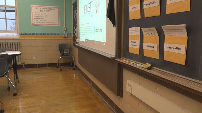 Iowa City High School has a new resource that aimed to address the increase in students needing...