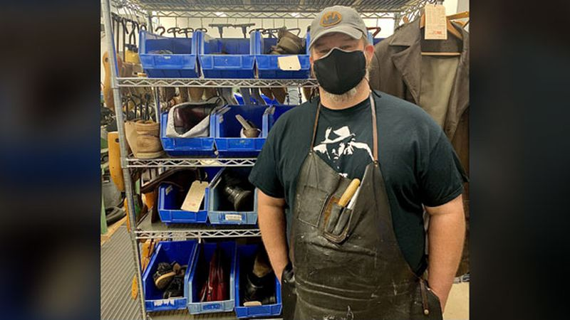 The Marion small business owner has required face coverings in his store the entire pandemic,...