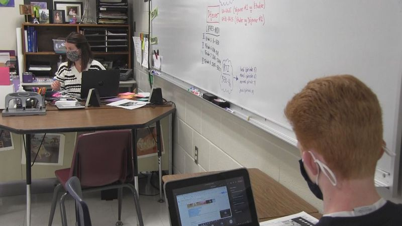 Eastern Iowa students navigating through the challenges and successes of learning during the...