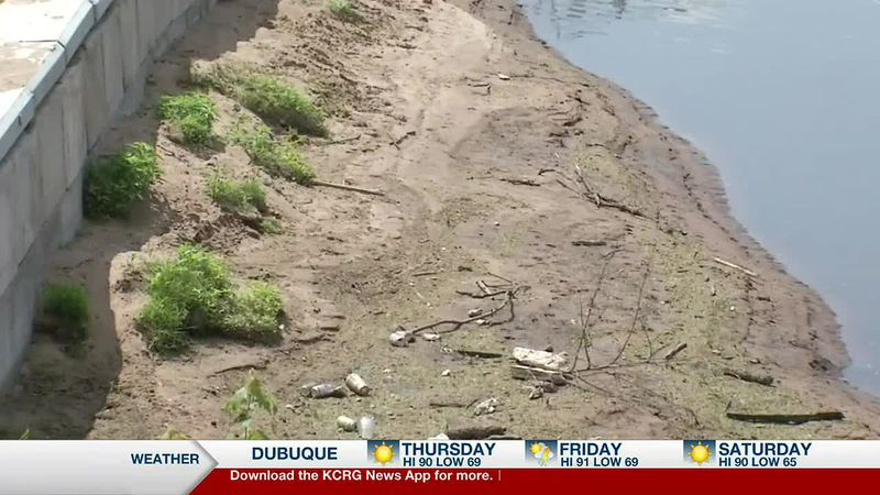 The director of the Dubuque County Conservation Department said this is probably the lowest the...