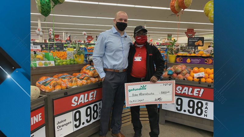 A $12 gift turned into a more than $3,000 dollar blessing for one local Hy-Vee employee.