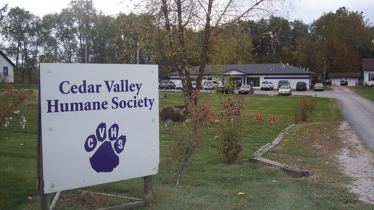The Cedar Valley Humane Society reports its generator was stolen hours after getting it up and...