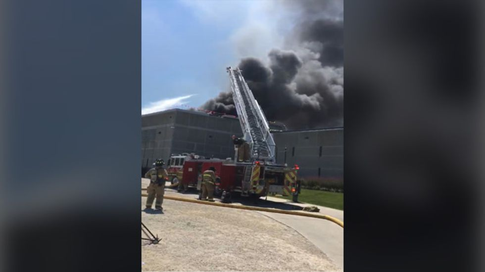 Roof fire at Fort Dodge prison believed under control