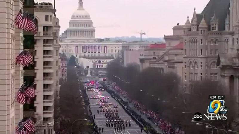 Previous inauguration.
