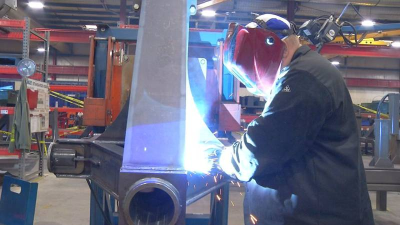 Kinze's whole manufacturing plant in Williamsburg is looking to hire at least 80 people.