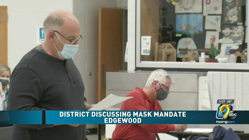 Local school districts debate ending mask mandates