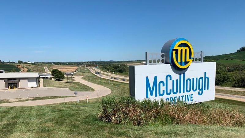 McCullough Creative decided to move forward with expanding its building despite business being...