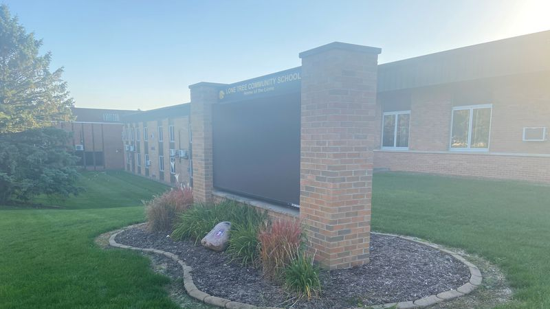 Students in the Lone Tree School District had to learn virtually Wednesday following a social...