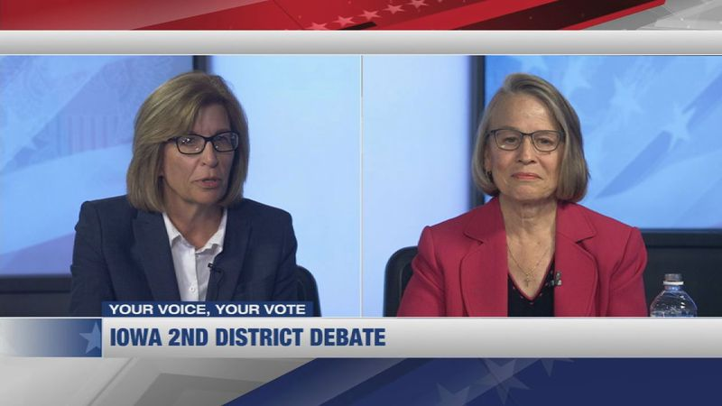 In a Monmouth Poll from October 20, the poll reveals gains for Iowa's Democratic candidates for...