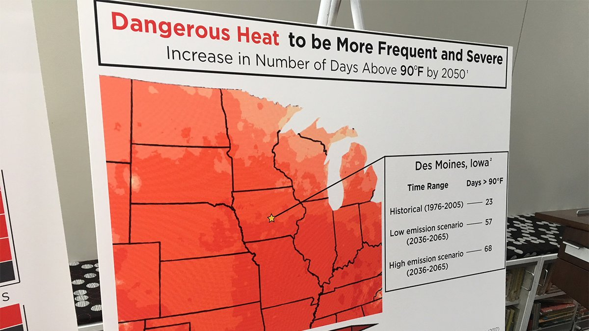 More than 200 Iowa scientists endorsed the ninth annual Iowa Climate Statement, which was...