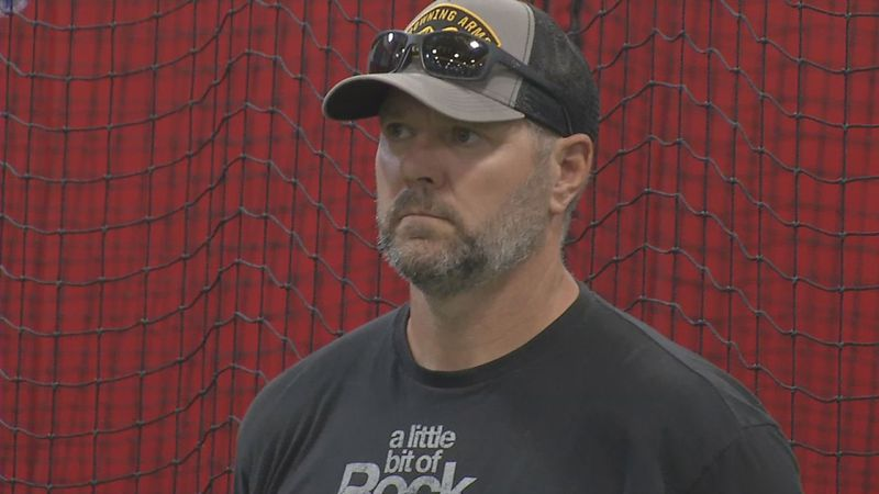 Cal Eldred spent three months when MLB was shutdown back in Iowa working with his son, C.J.
