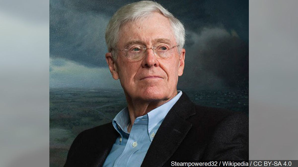 Charles G. Koch is an American businessman, political donor and philanthropist. He is co-owner,...