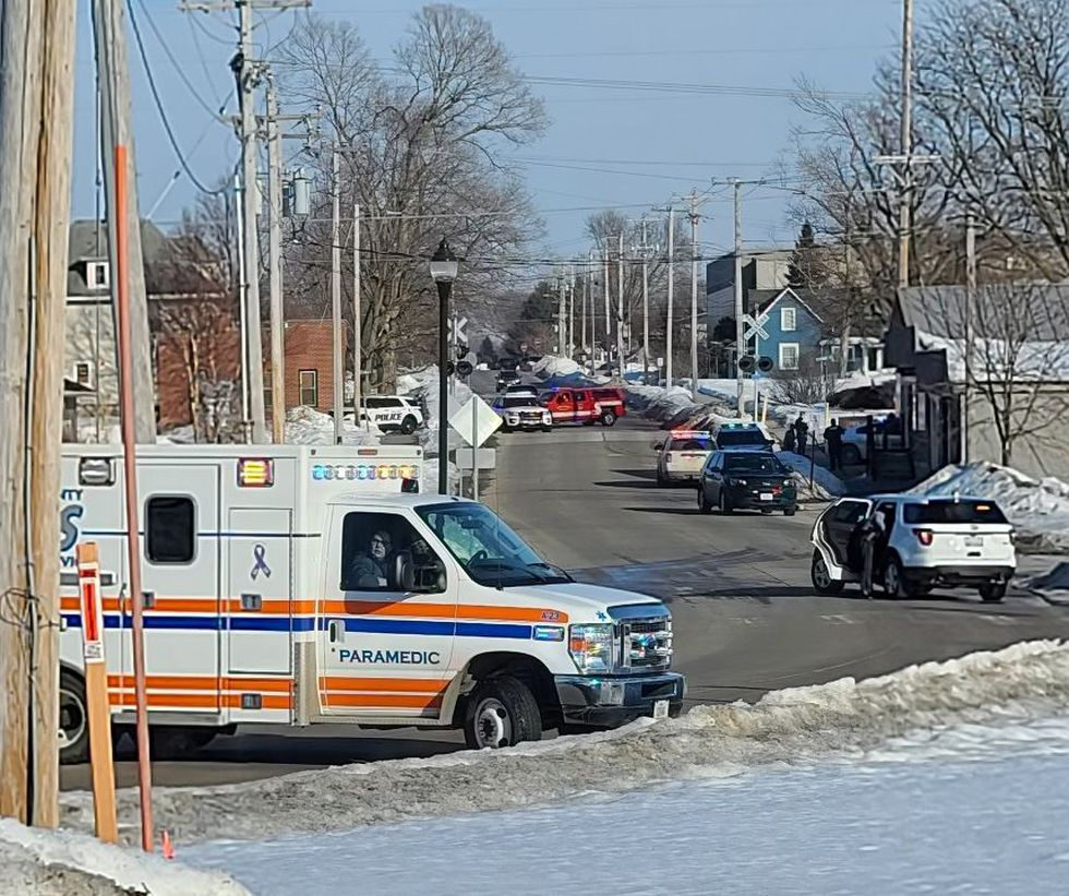 North Liberty Police are engaged in a standoff with a man who has barricaded himself inside a...