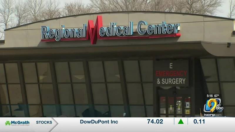 Staff at Regional Medical Center in Manchester say they are facing capacity issues as COVID-19...
