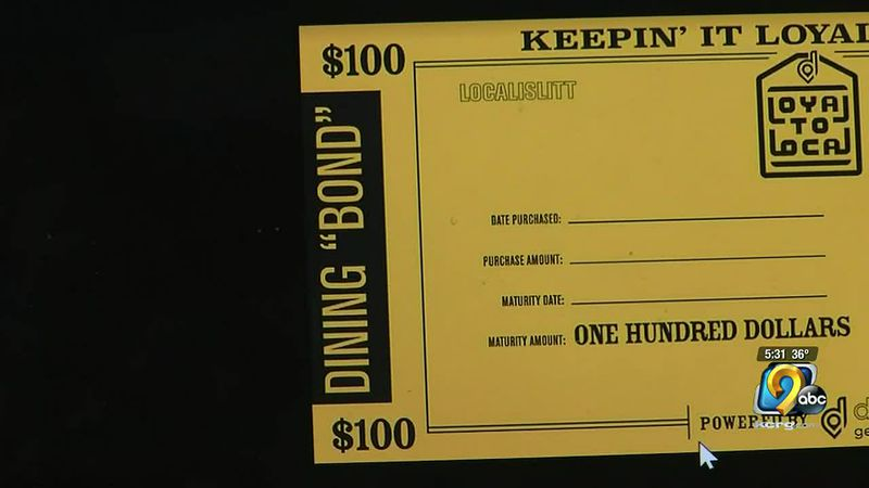 "Loyal to Local's new ""bond"" program hopes to give local businesses a much needed boost through..."