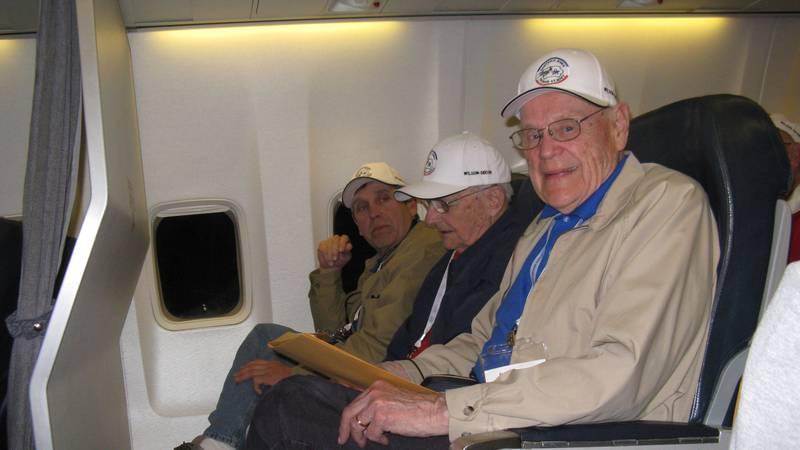 Wilson on Eastern Iowa Honor Flight