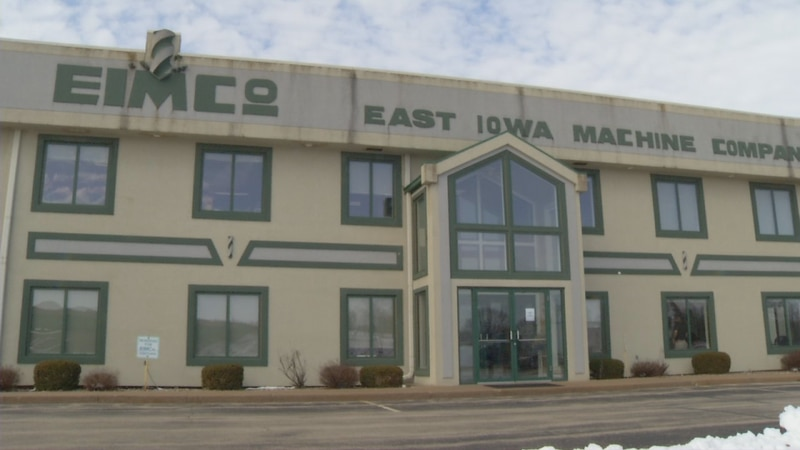 The Eastern Iowa Machine Company is located just off Highway 20 in Farley.