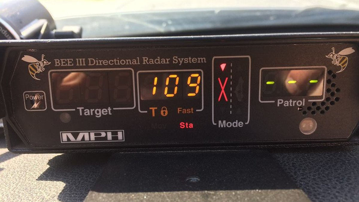 An Iowa State Patrol Trooper clocked a driver going 109 miles per hour on I-29 in western Iowa...