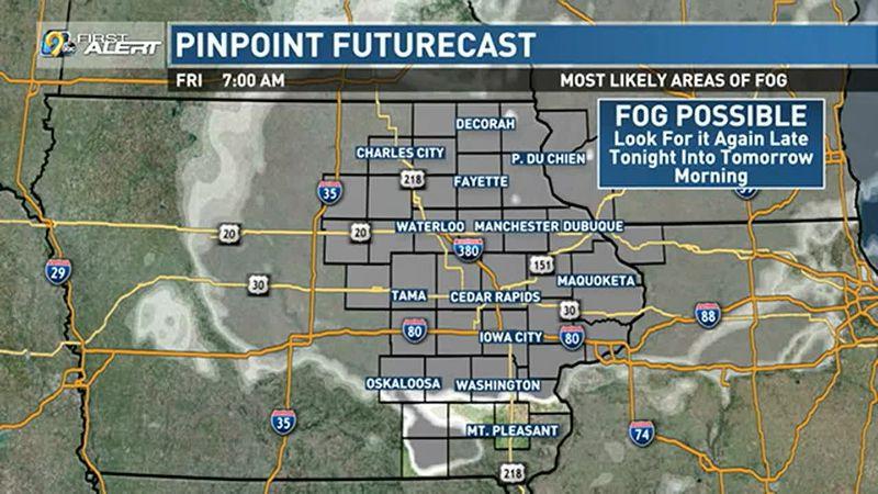Fog overnight