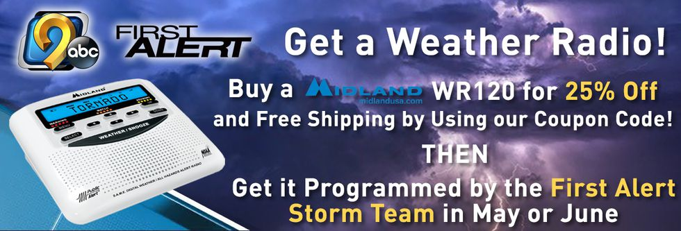 Join the KCRG-TV9 First Alert Storm Team and Midland to stay safe this severe weather season!