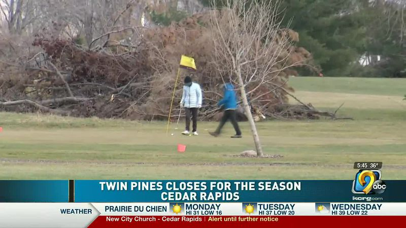 Twin Pines Golf Course in Cedar Rapids closes for the season