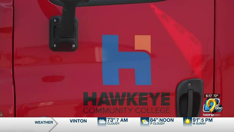 Hawkeye Community College is working to fill the need for so many truck drivers in Iowa.