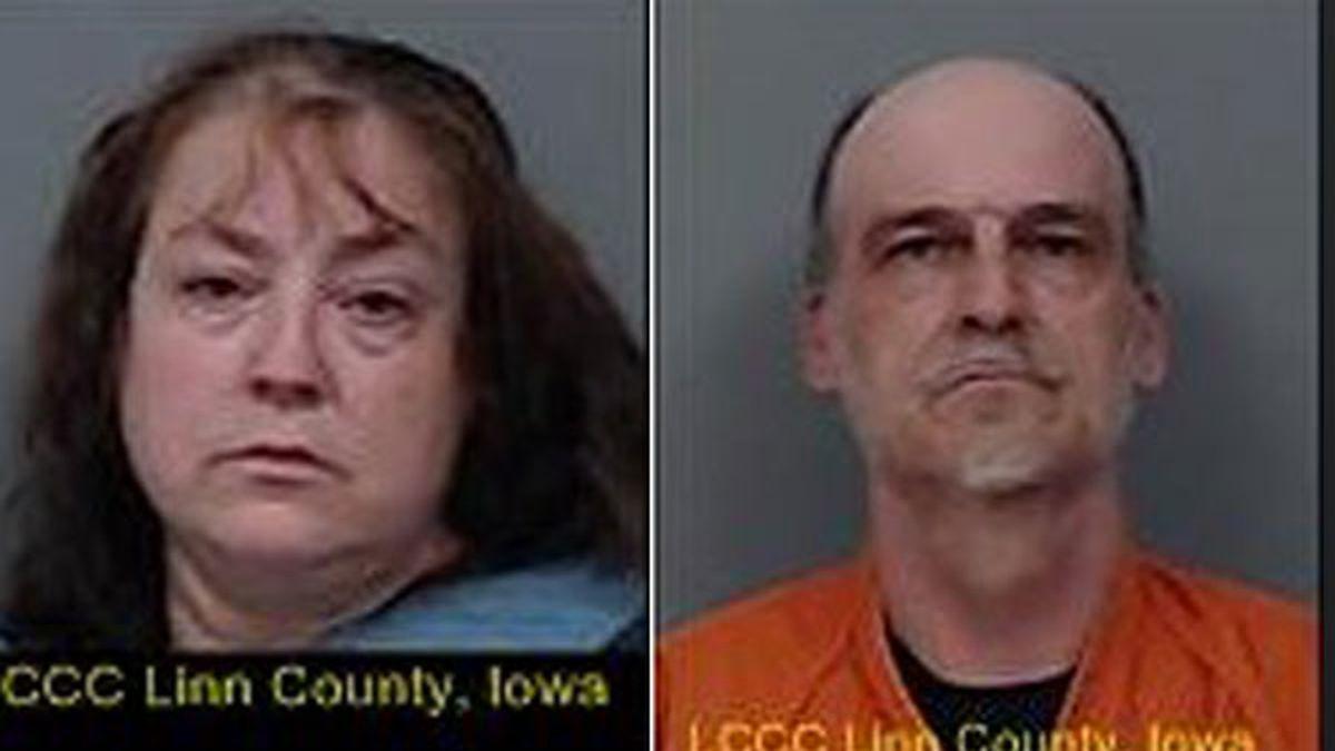 Officials said 46-year-old Jennifer Cronan (left) and 50-year-old Matthew Cronan (right) were...